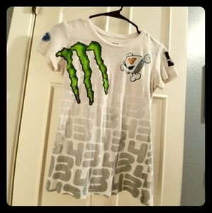 Final $ DC Rob Dydryick MTV'S Ridicul.. Fitted tee